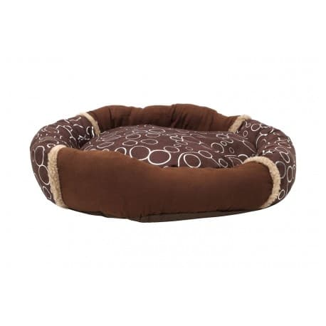 Lolo Pets Лежанка, коричневая, 60х53х10 см