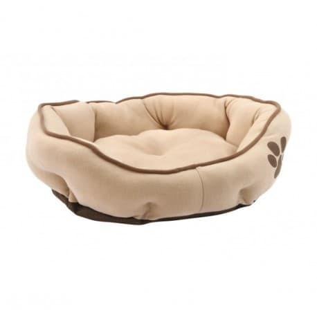 Lolo Pets Лежанка бежевая, размер М, 57х52х14 см