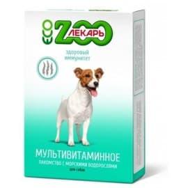 """Лакомство мультивитаминное """"ЭКО ZOOЛЕКАРЬ"""" для собак """"Здоровый иммунитет"""", 90 таб"""