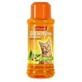 Шампунь Amstrel для кошек кондиционирующий с липой и чередой, 320мл
