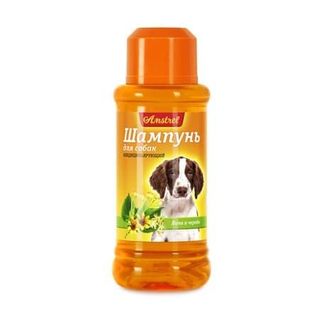 Шампунь Amstrel для собак кондиционирующий с липой и чередой, 320мл