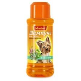 Шампунь Amstrel для собак кондиционирующий с целебными травами, 320мл