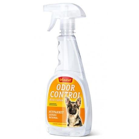 "Средство Amstrel ""Odor control"" устраняет запах псины (спрей), пр-во РБ, 500 мл"