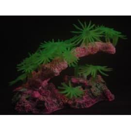 Декор для аквариума Зеленый, 18x9x7 см