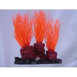Декор для аквариума Оранжевый, 24x20x18 см