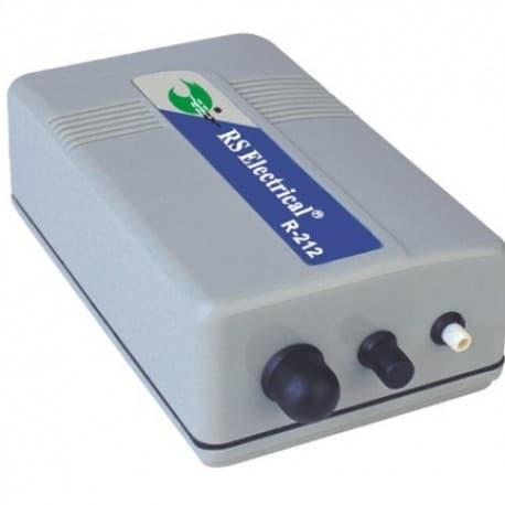 Воздушный компрессор RS-212 (R-212), 1 л/мин, 1,5W, 0,24кг, 142*81*49