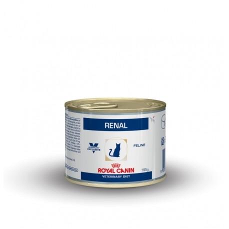 ROYAL CANIN RENAL CHICKEN FELINE 195г, влаж диета для кошек