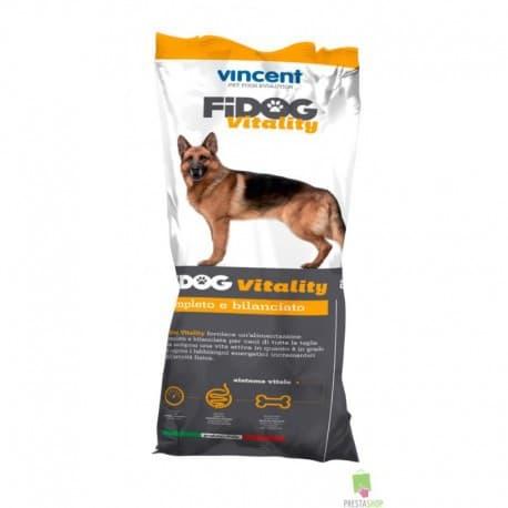 Vincent FIDOG Vitality Полнорационный корм для взрослых активных собак, 4 кг