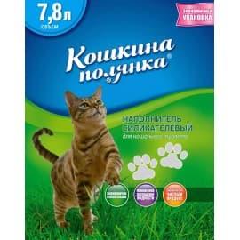 Наполнитель «Кошкина Полянка» Силикагелевый (без запаха) 7,8 л