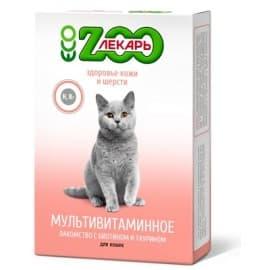 Мультивитаминное лакомство ЭКО ZOOЛЕКАРЬ для кошек «Здоровье кожи и шерсти»