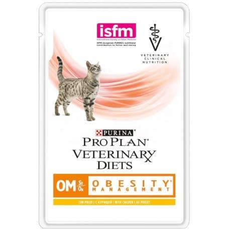 Pro Plan VD OM St/Ox Диета для взрослых кошек для снижения избыт. массы тела, 350 г