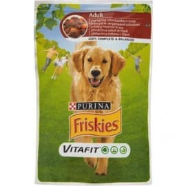 Friskies. Корм конс. для взр. собак, с говядиной и картофелем, в подливе, 100 г