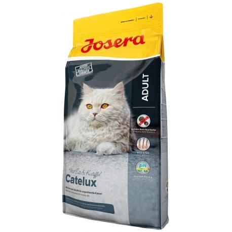 Josera Catelux (Adult 32/20) для взрослых кошек, склонных к образованию комков шерсти, 10 кг