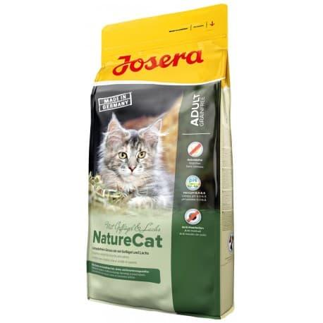 Josera NatureCat (Adult Sensitive 33/20) беззерновой корм для кошек и котят от 6 месяцев, 2 кг