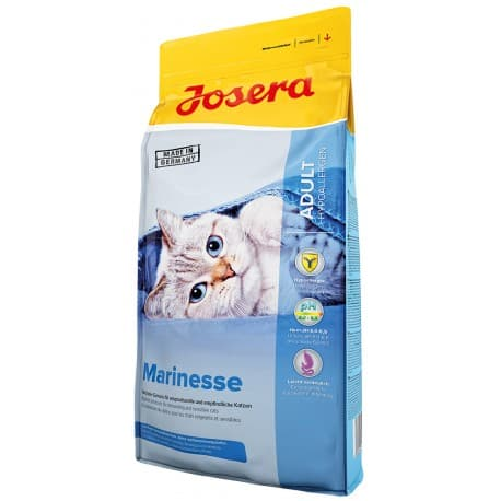 Josera Marinesse (Adult Sensitive 30/15) для кошек, страдающих пищевой непереносимостью, 10 кг