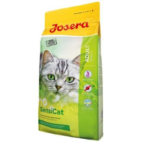 Josera Sensicat (Adult Sensitive 33/18) для взрослых кошек с чувствительным пищеварением, 10 кг