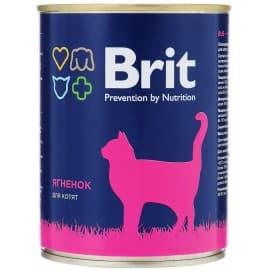 БРИТ Консервы для кошек LAMB FOR KITTEN Ягненок для котят, 340 г