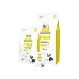 Брит 7 кг Care MINI GF Adult Lamb беззерновой корм д/мини-собак, ягненок