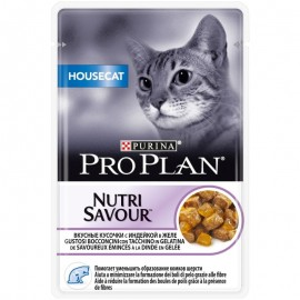 Pro Plan Nutri Savour корм консервированный для кошек с индейкой 0, 085 кг