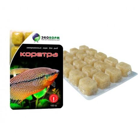 "Замороженный корм для рыб ""Коретра"", 100мл"