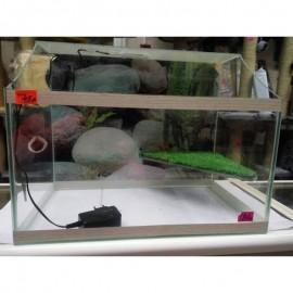 Полюдариум с подсветкой с островом для черепах 50л