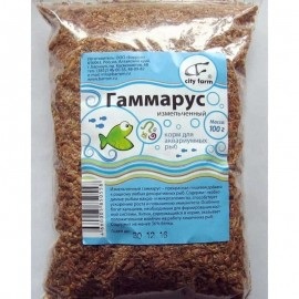 """Корм для рыб """"Гаммарус"""", 100 гр"""