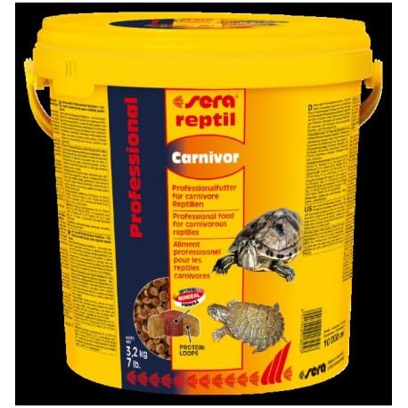"Корм SERA для водных черепах ""Reptil Profess. Carnivor"", 10 л (3,2 кг)"