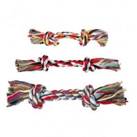 """Игрушка TRIXIE для собаки """"DENTAfun"""" в виде верёвки с 2 узлами, хлопковая 300г/37 см"""