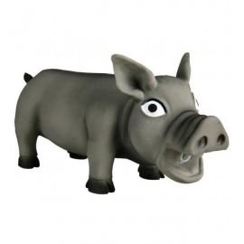 Игрушка TRIXIE из латекса для собаки Свинка со звуком 17 см