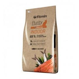 Беззерновой корм Fitmin Cat Purity Indor для взрослых кошек, живущих в доме (1,5 кг)