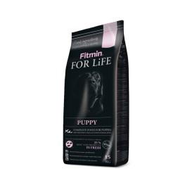 Сухой корм Fitmin For Life Puppy для щенков, беременных и кормящих собак всех пород (15 кг)