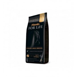 Сухой корм Fitmin For Life JUNIOR LARGE BREEDS для щенков крупных и гигантских пород (15 кг)