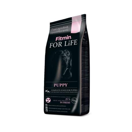 Сухой корм Fitmin For Life Puppy для щенков, беременных и кормящих собак всех пород (3 кг)