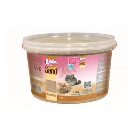 Песок Lolo Pets для шиншил (5,4 кг)