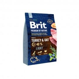 Сухой корм Brit Premium by Nature Light для собак склонных к полноте (3 кг)