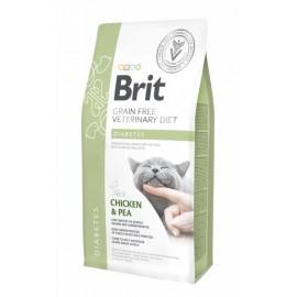 Brit VDC Diabetes беззерновая диета при диабете для кошек (2 кг)