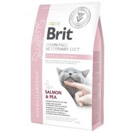 Brit VDC Hypoallergenic Salmon&Pea, беззерновая диета для кошек (2 кг)