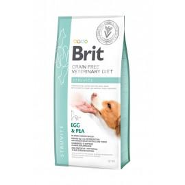 Сухой корм Brit VDD Struvite Egg&Pea беззерновая диета при струвитном типе МКБ для собак (12 кг)