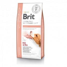 Сухой корм Brit VDD Renal Egg&Pea беззерновая диета при почечной недостаточности и заболевании почек для собак (2 кг)