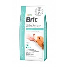 Сухой корм Brit VDD Struvite Egg&Pea беззерновая диета при струвитном типе МКБ для собак (2 кг)
