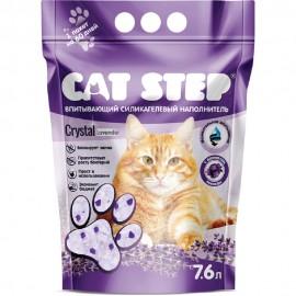 """Наполнитель силикагелевый Cat Step """"Лаванда"""", (7,6 л)"""