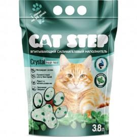 """Наполнитель силикагелевый Cat Step """"Мята"""", (3,8 л)"""