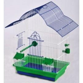 """Клетка для птиц крашеная """"Мальва"""" 330х230х450"""