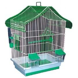 """Клетка для птиц крашеная """"Мини-1"""" 330х230х450"""