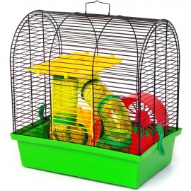 "Клетка для грызунов ""Бунгало-2 люкс"" 335х230х365"