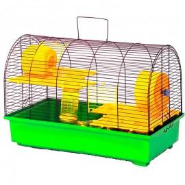 "Клетка для грызунов ""Бунгало-4 люкс"" 570х300х390"