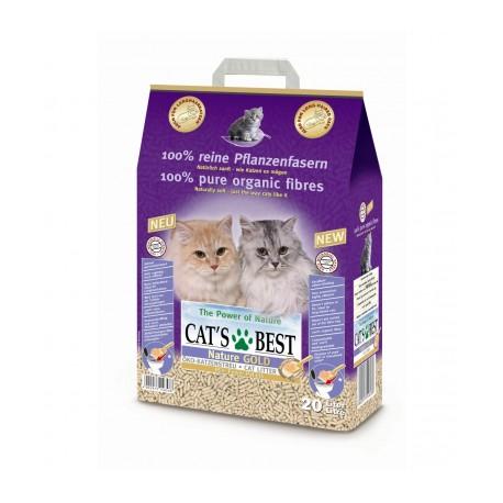 Наполнитель Cats best nature gold, 20 л