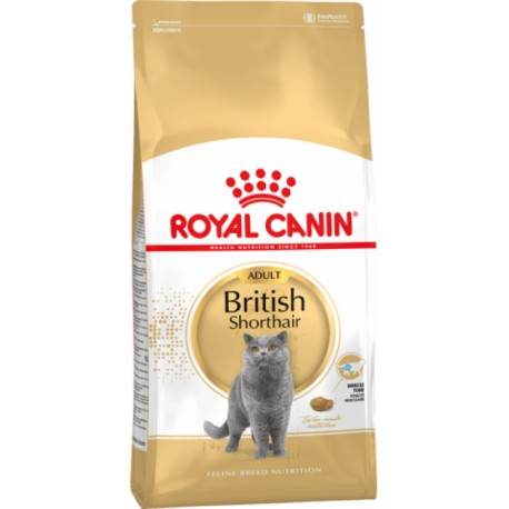 Сухой корм ROYAL CANIN BRITISH Shorthair для британских к,ш, скоттиш:фолд, скоттиш:страйт от 12+ мес (2 кг.)