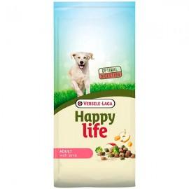 Сухой корм Versele-Laga Happy Life Adult ягненок, 15 кг