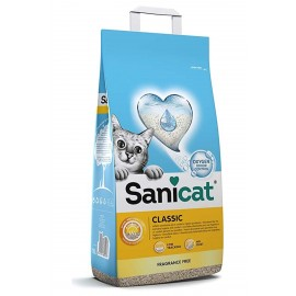 Наполнители для кошек и котов Sanicat 20л CLASSIC впитывающий Артикул SCI038